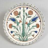 Turkish Tulip Plate